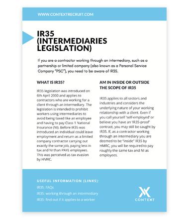 PDF IR35 Cover